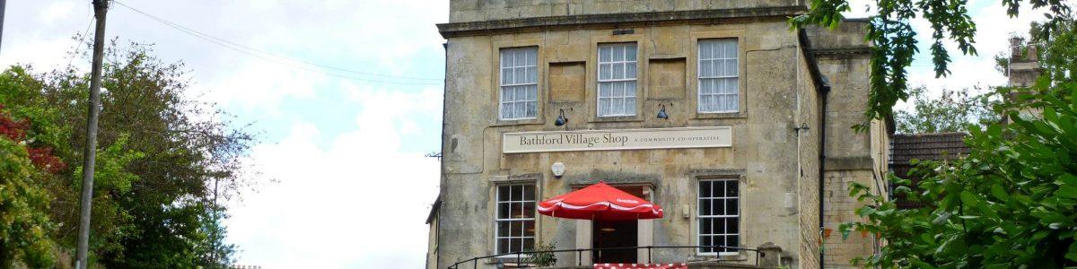 Bathford village shop view